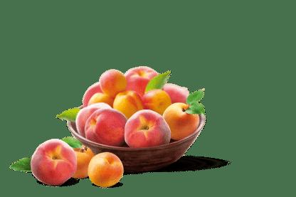 Corbeille de Pêche-nectarine de fermier Alsacien