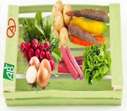 Image du panier bio Fruits et légumes d'Alsace
