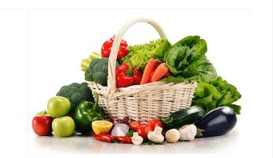 Panier de fruis et légumes Bio