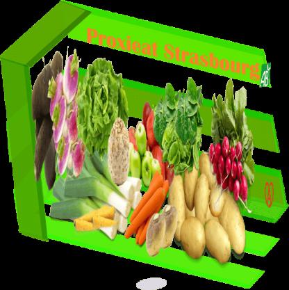 Le panier de fruits et légumes bio du primeur alsacien