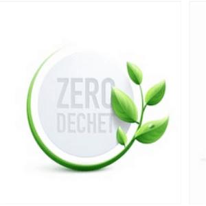 Logo zéro déchet  Programme Proxieat