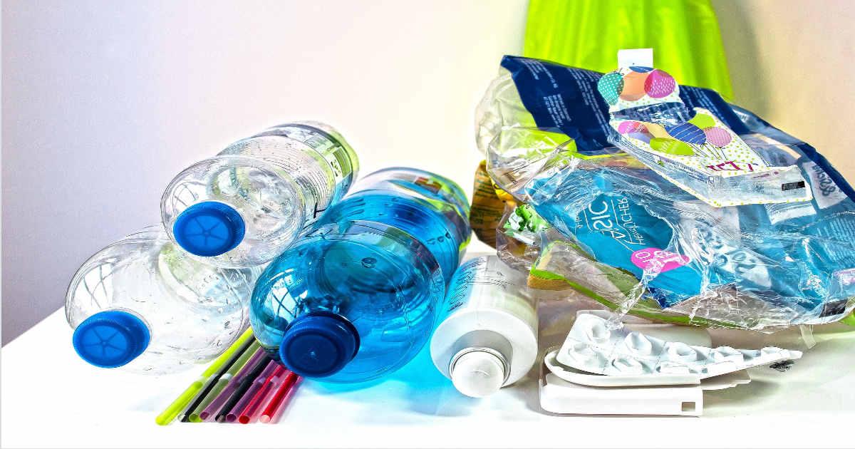 Bouteille de Plastique