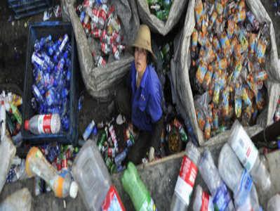 Bioplastique max déchet à la décharge