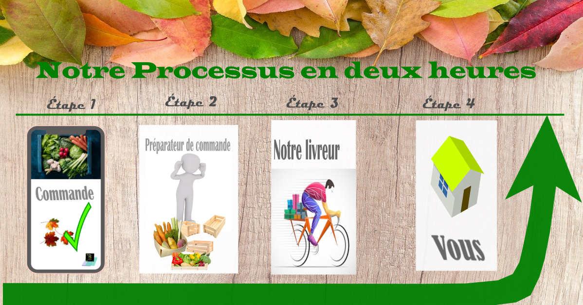 La livraison gratuit de fruits et légumes Bio à Strasbourg -Proxieat